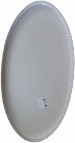 "Minelab 10"" Elliptical Skidplate for the GPX Detector Search Coils, White"