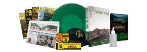 Gold Prospectors Association of America (GPAA) Membership 1-Year