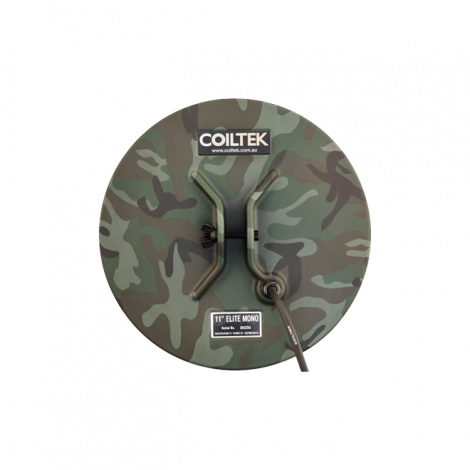 Coiltek Elite 11″ Round CAMO Mono Searchcoil for SD, GP or GPX