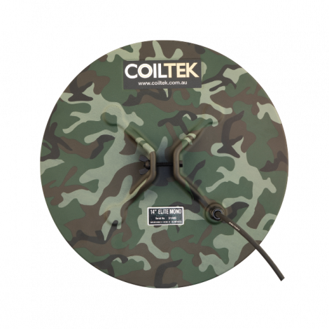 Coiltek 14″ Mono Elite Coil for Minelab SD / GP and GPX Detector (Camo)