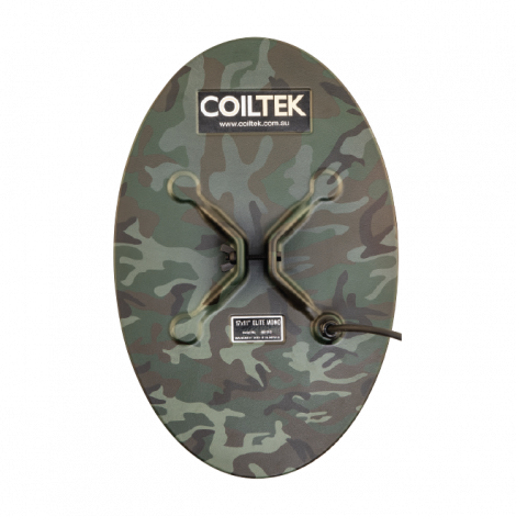 "Coiltek 17 X 11"" Elite Camo Mono Search Coil (SD / GP / GPX) (Camo)"