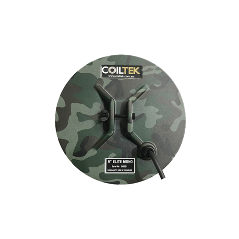 "Coiltek 9"" Elite Camo Mono Search Coil (SD / GP / GPX)"