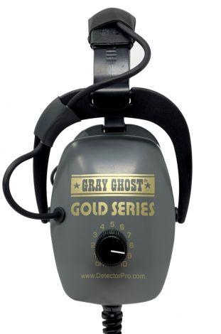 "DetectorPro Gray Ghost Gold Series 1/8"" Plug (Gold Monster / Equinox)"