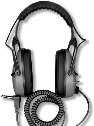 DetectorPro Original Gray Ghost Headphones