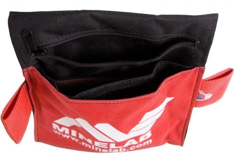 Minelab Metal Detector Treasure Tool Pouch with Zippered Pocket